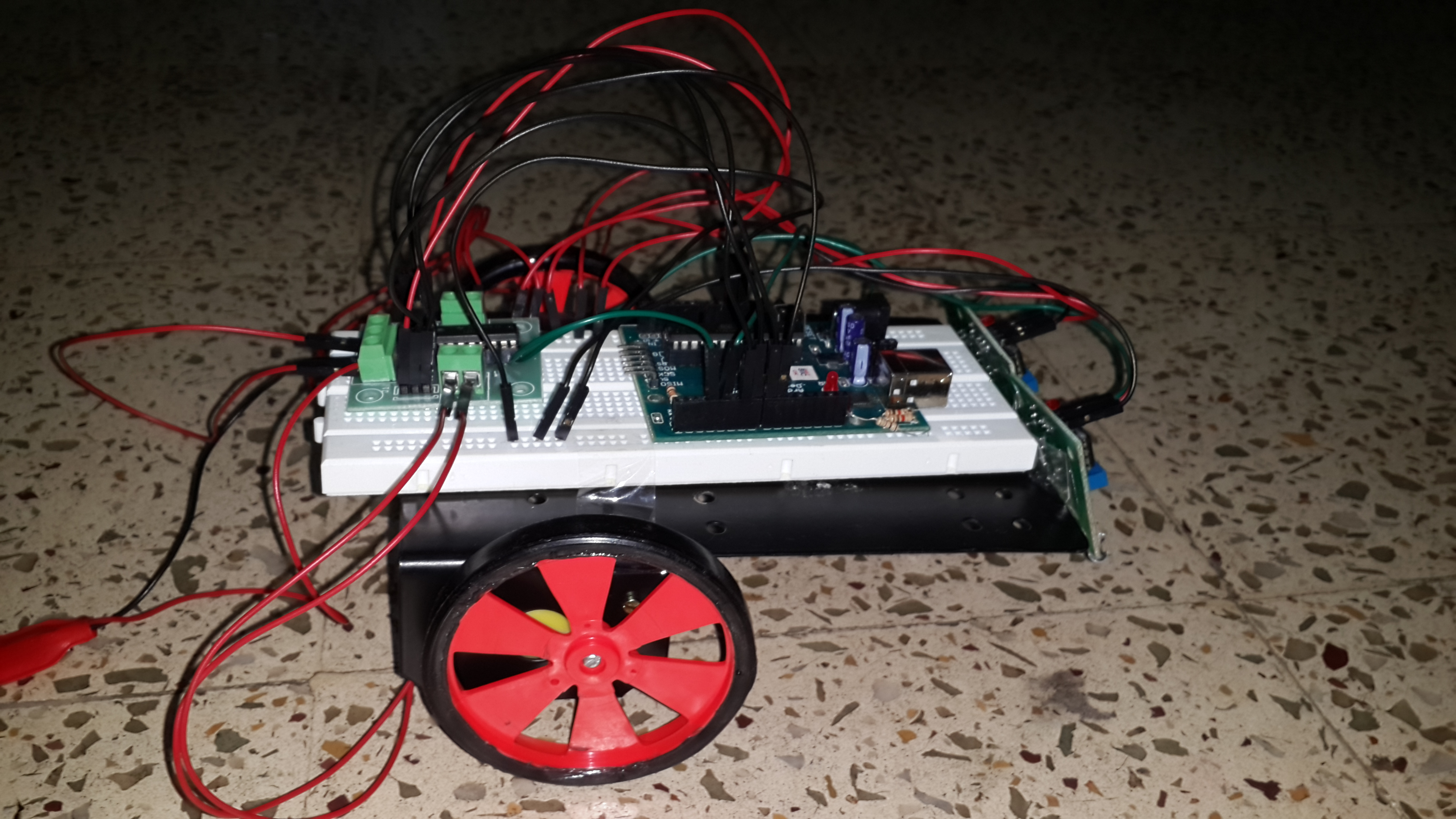 Picture of ArduinoLine Following Robot
