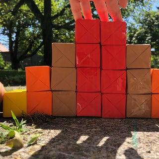 Interactive Origami Sculpture