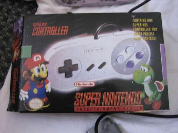 Picture of SNES Controller Into a Mouse Mod