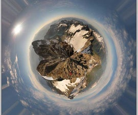 How to make Polar Panorama with Photoshop