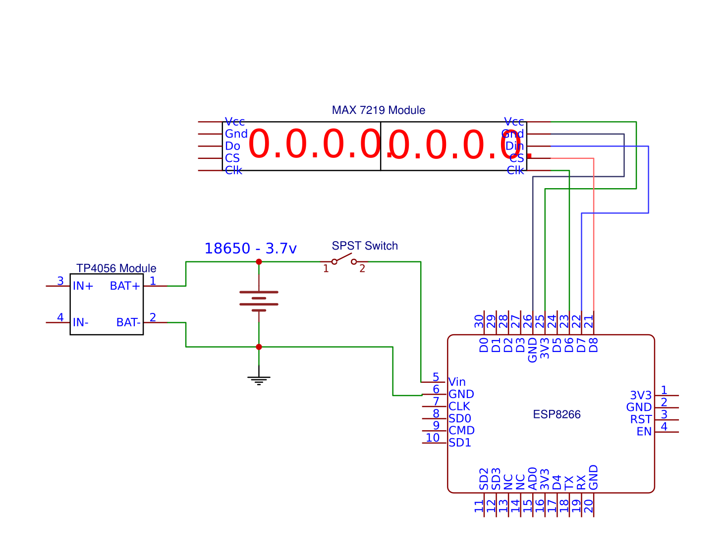 Picture of Schematic, Code and Setup