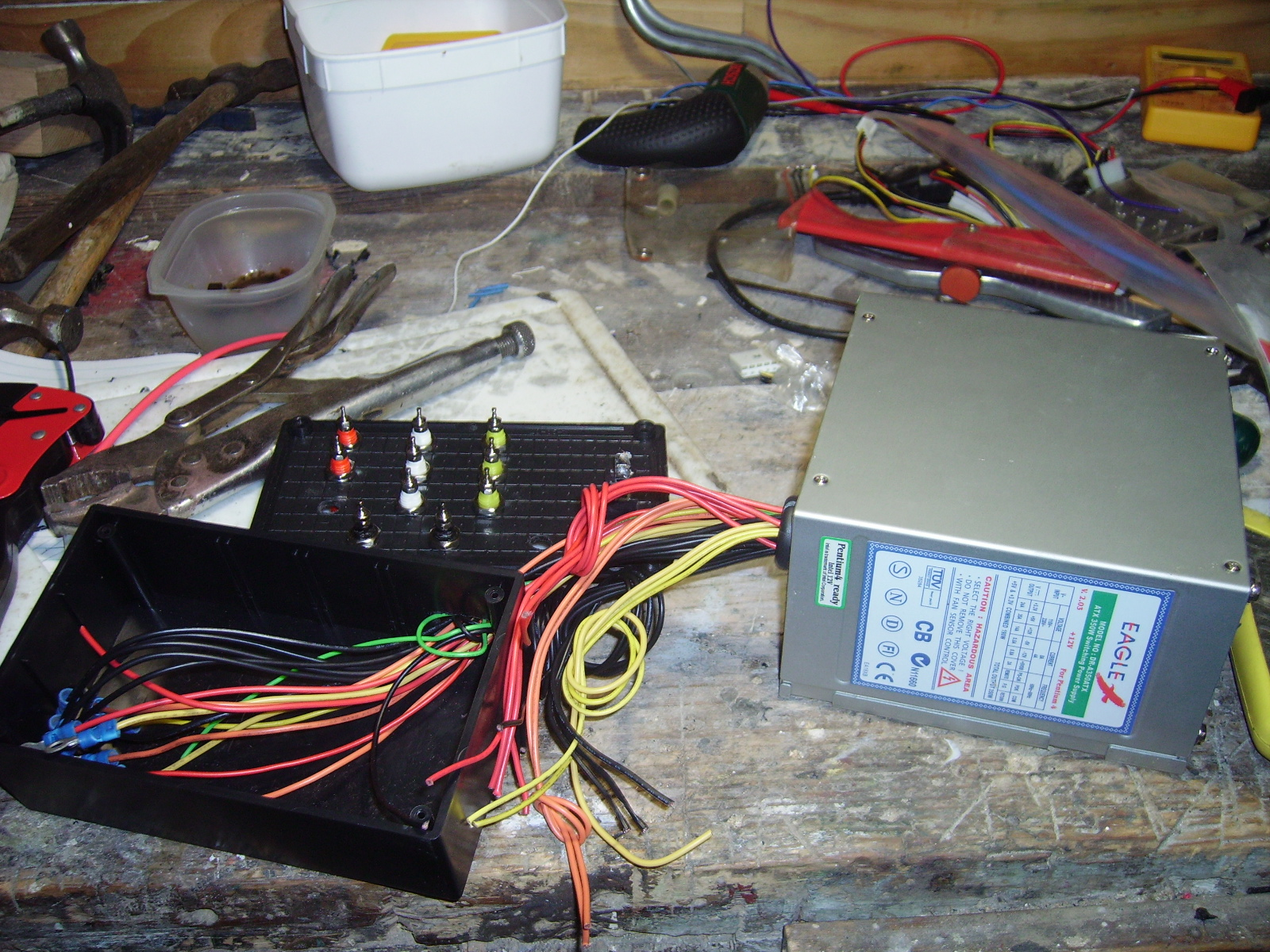 Picture of Crimping and Soldering