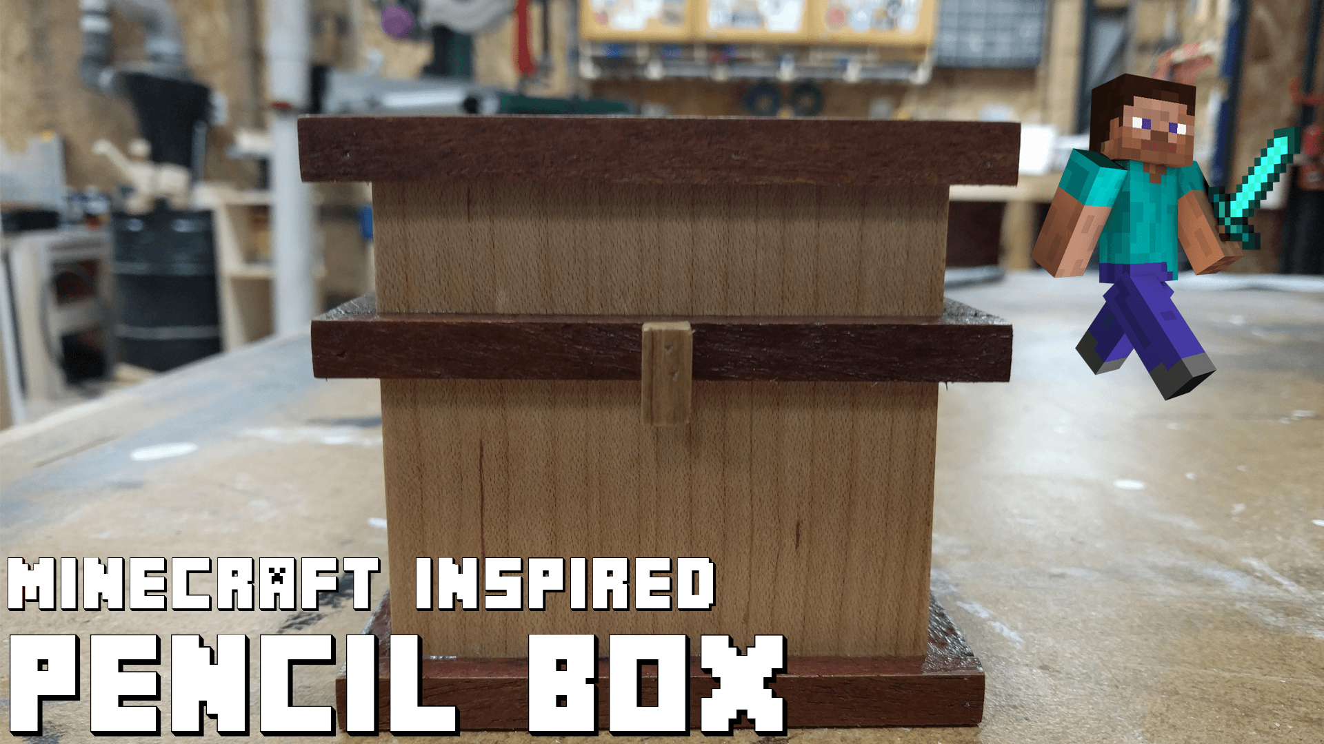 Picture of Minecraft Inspired Pencil Box