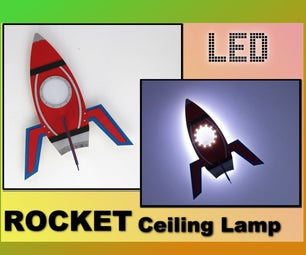 Rocket Ceiling Lamp
