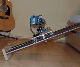 TimeLapse Motorized Dolly & Slider (DIY Project)