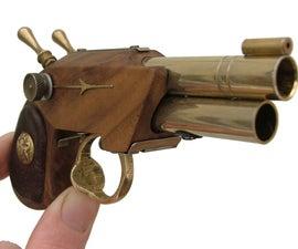 The Bunny. A Steampunk Garter Pistol.