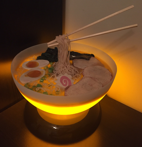 Completed Ramen Bowl Lamp!