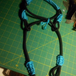 Rope and Paracord Bosal or Indian Side Pull