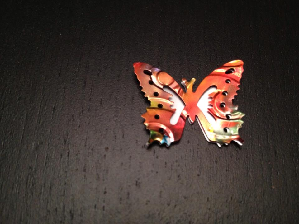 Picture of Attach the Bead to the Bottom of the Butterfly