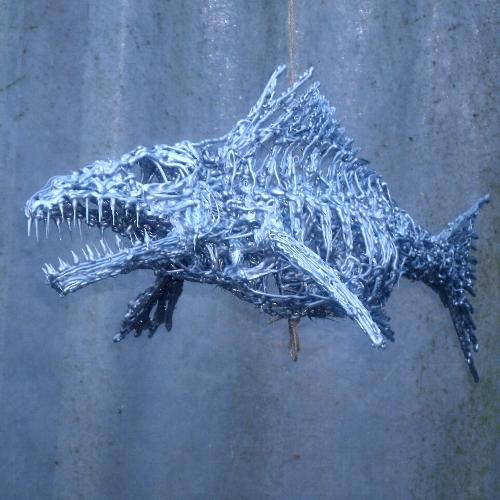 Picture of Silicone Rubber Fish Sculpture