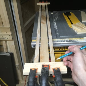 Connecting the Bottom Shelf to the Easel