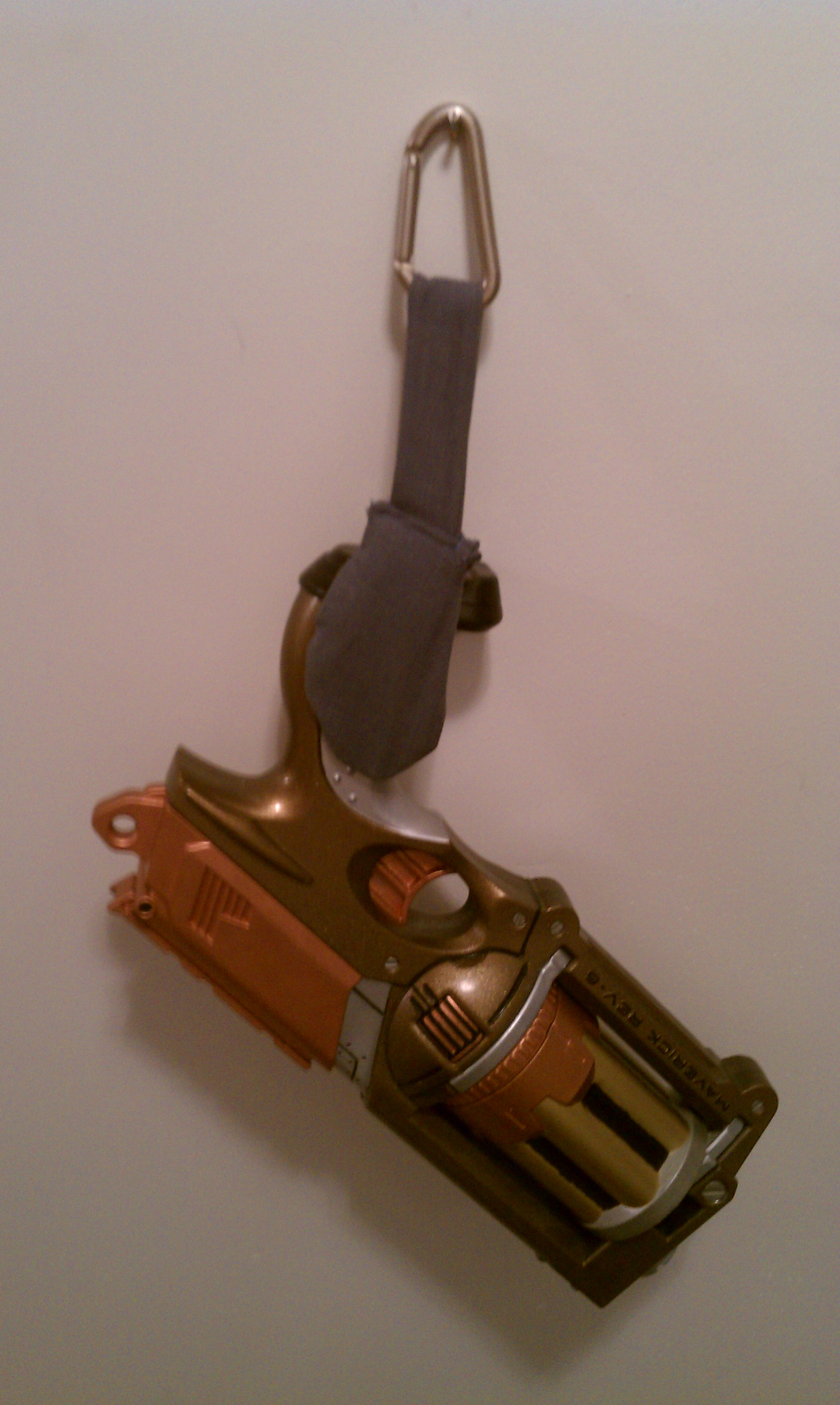 Picture of Steampunk and Nerf Gun Quick Access Show Holder