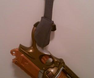 Steampunk and Nerf Gun Quick Access Show Holder