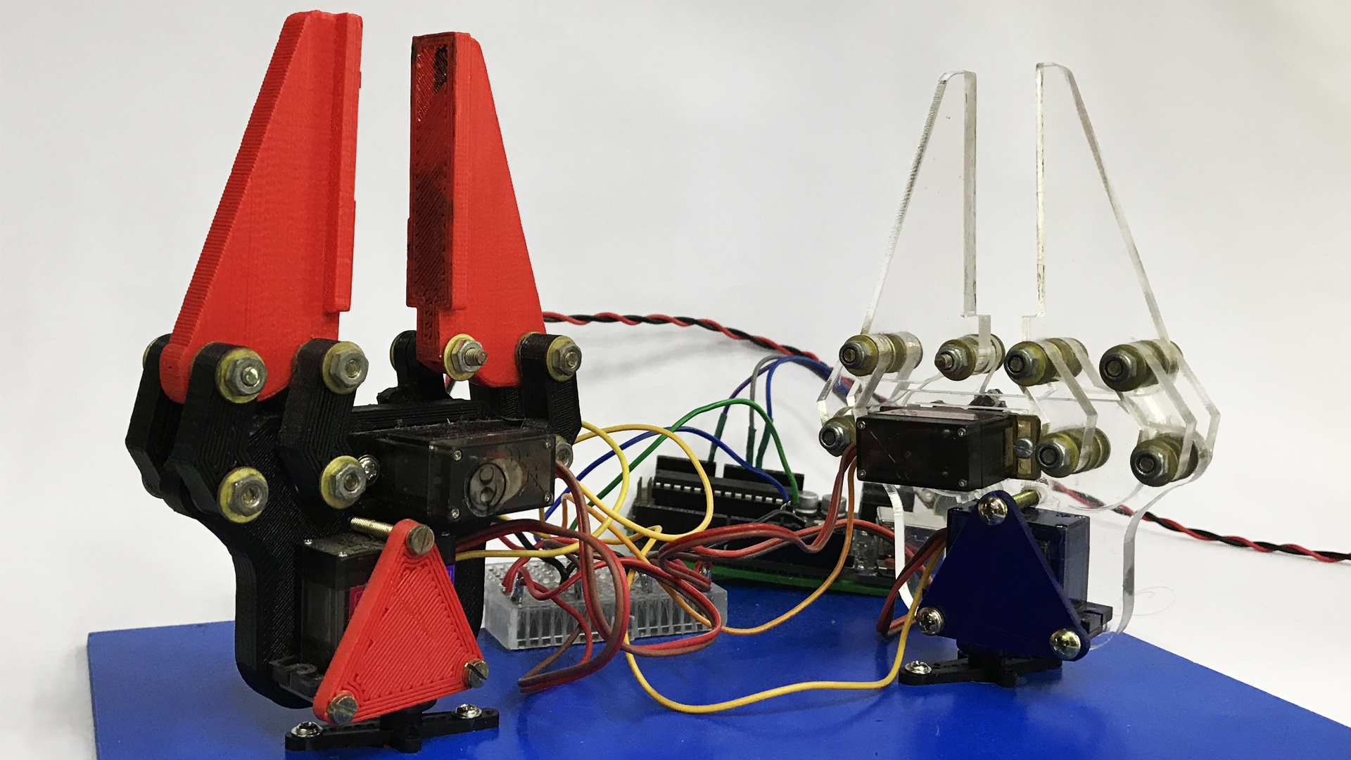 Picture of 3D Printing: ROBOTIC CLAW WITH ARDUINO