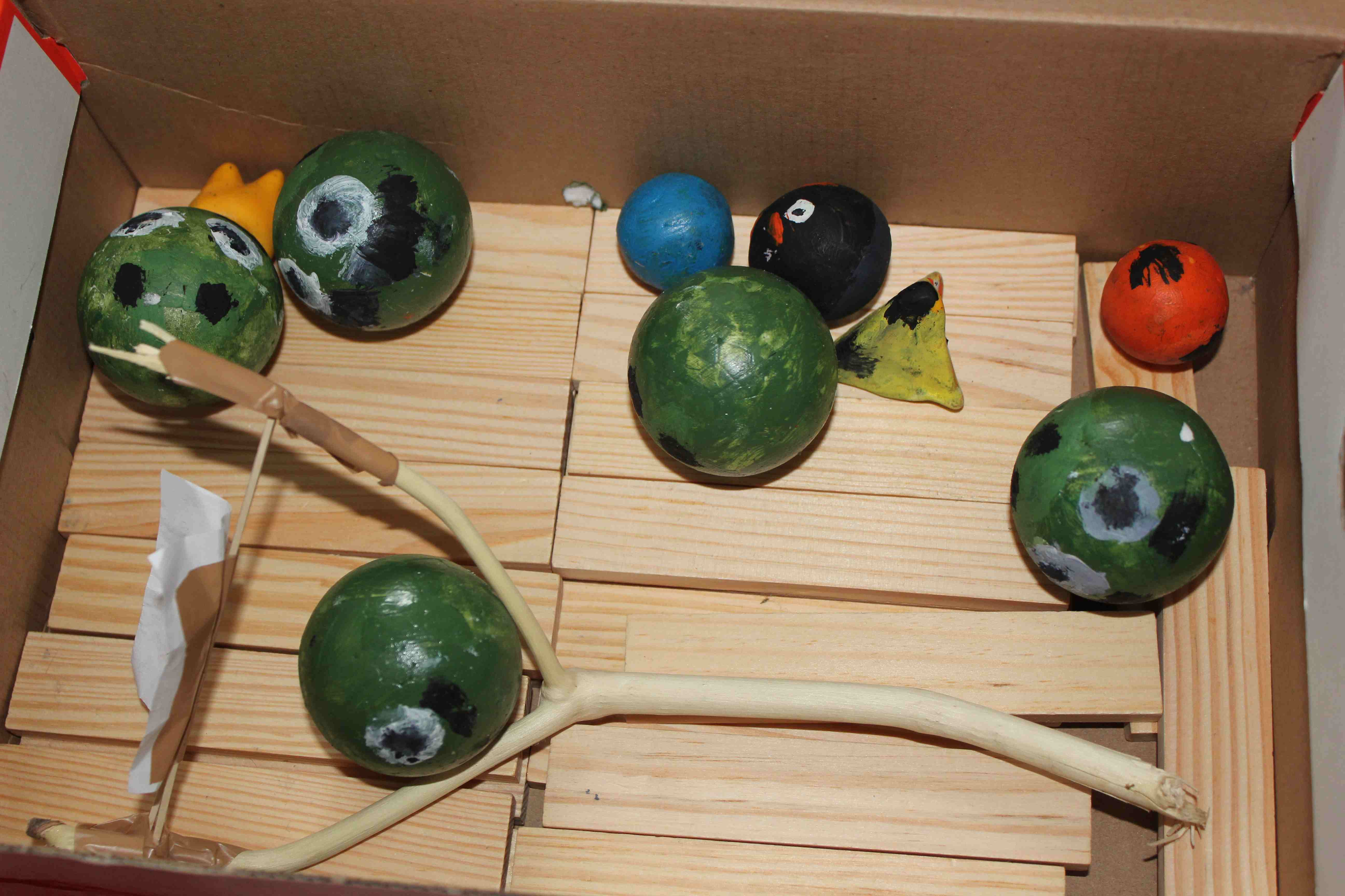 Picture of Real Life Angry Birds