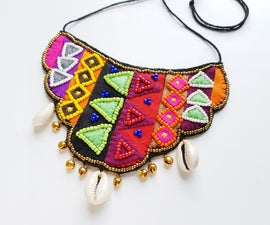 DIY Ethnic Inspired Necklace