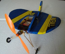 Simple Trainer RC Plane 'Nut Ball' from Scratch