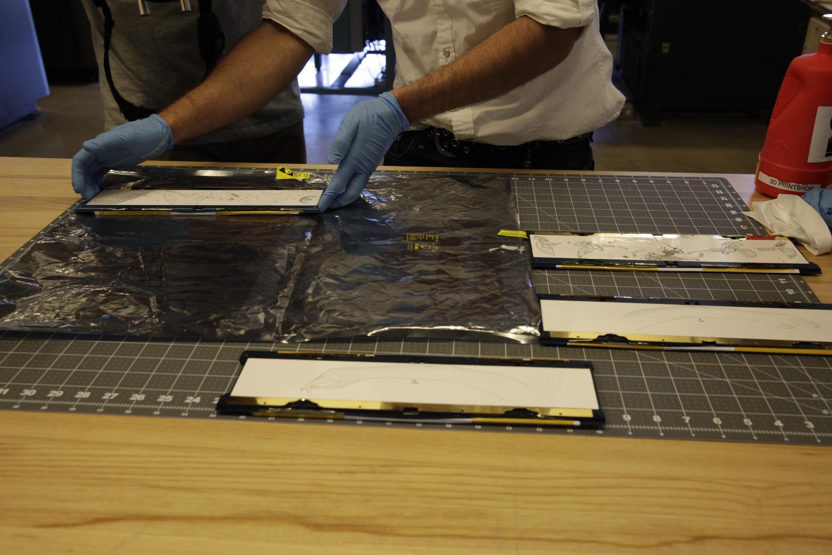 Picture of Laser Engrave Artwork on Aluminum Side Panels