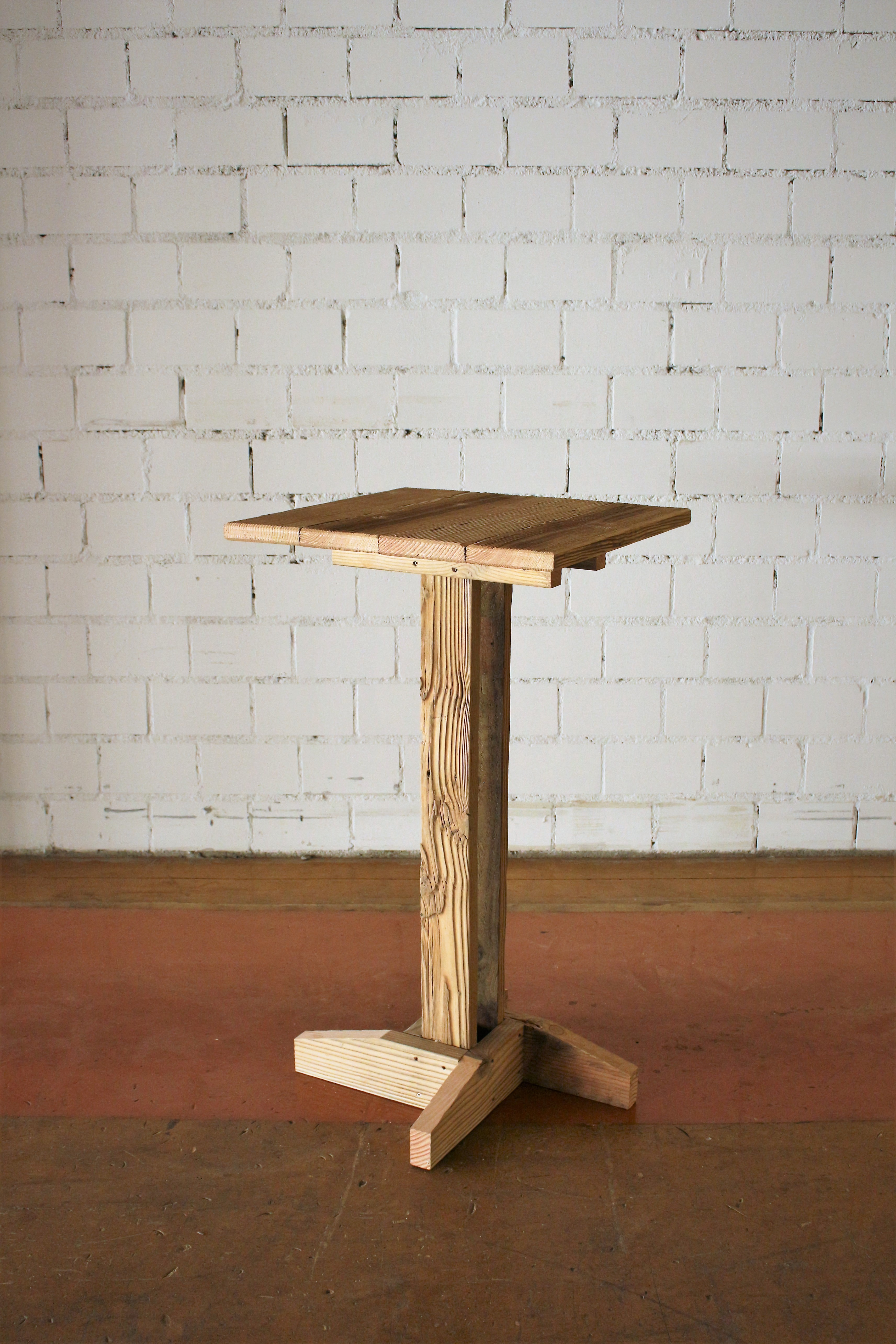 Picture of Reclaimed Wood Bar Table