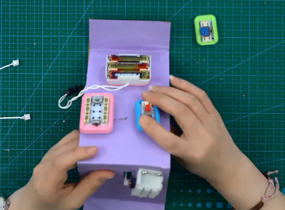 Fix the Self-locking Button Module in the Proper Position