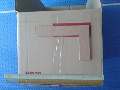 3R Box Step 2: Measure and Cutting the Box