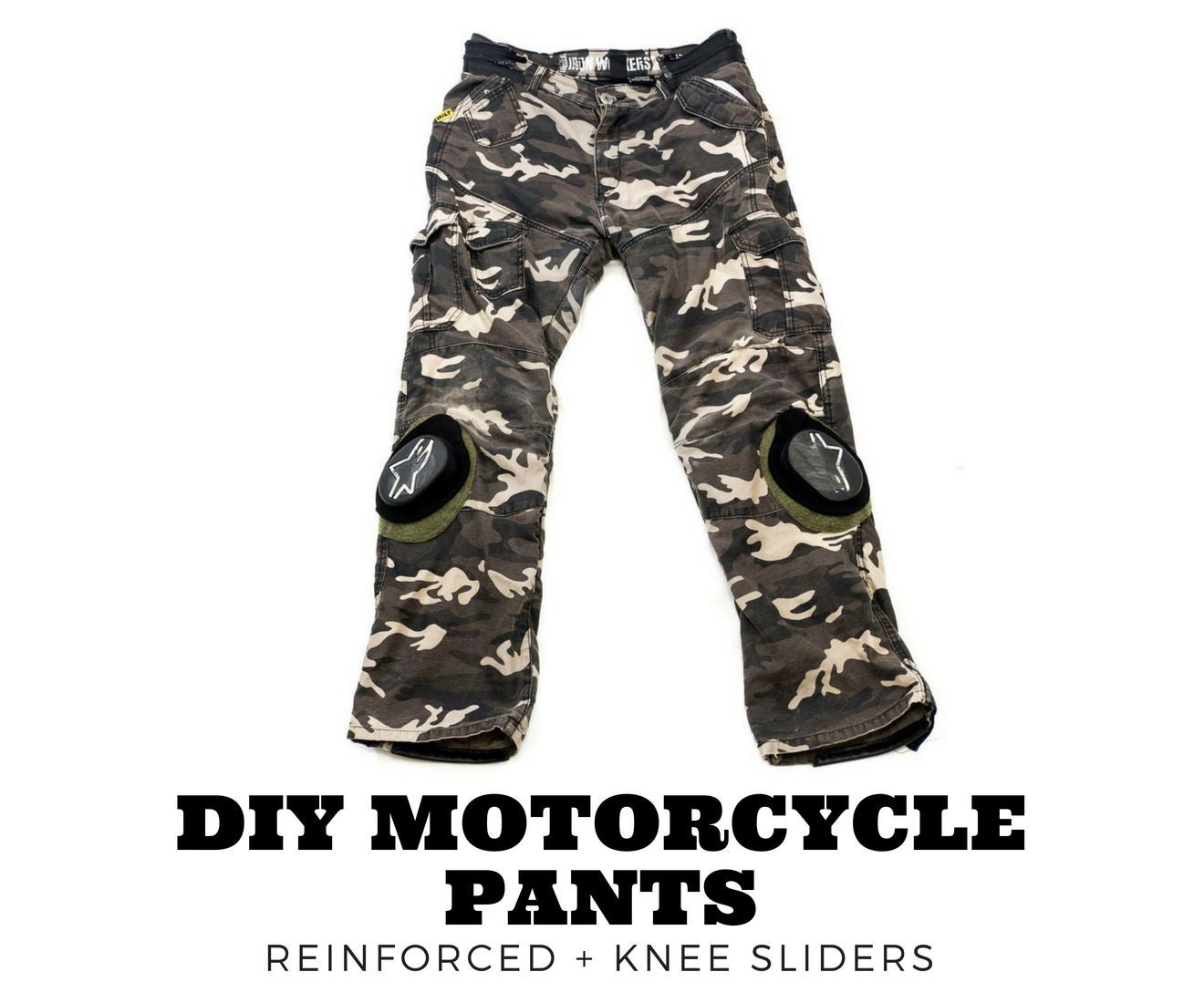 577c02874e DIY Armored Motorcycle Pants Upgrade: 9 Steps (with Pictures)