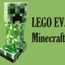 Large LEGO MineCraft Creeper Bot