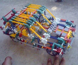 Knex Rally Car Version 3 Instructions!!!