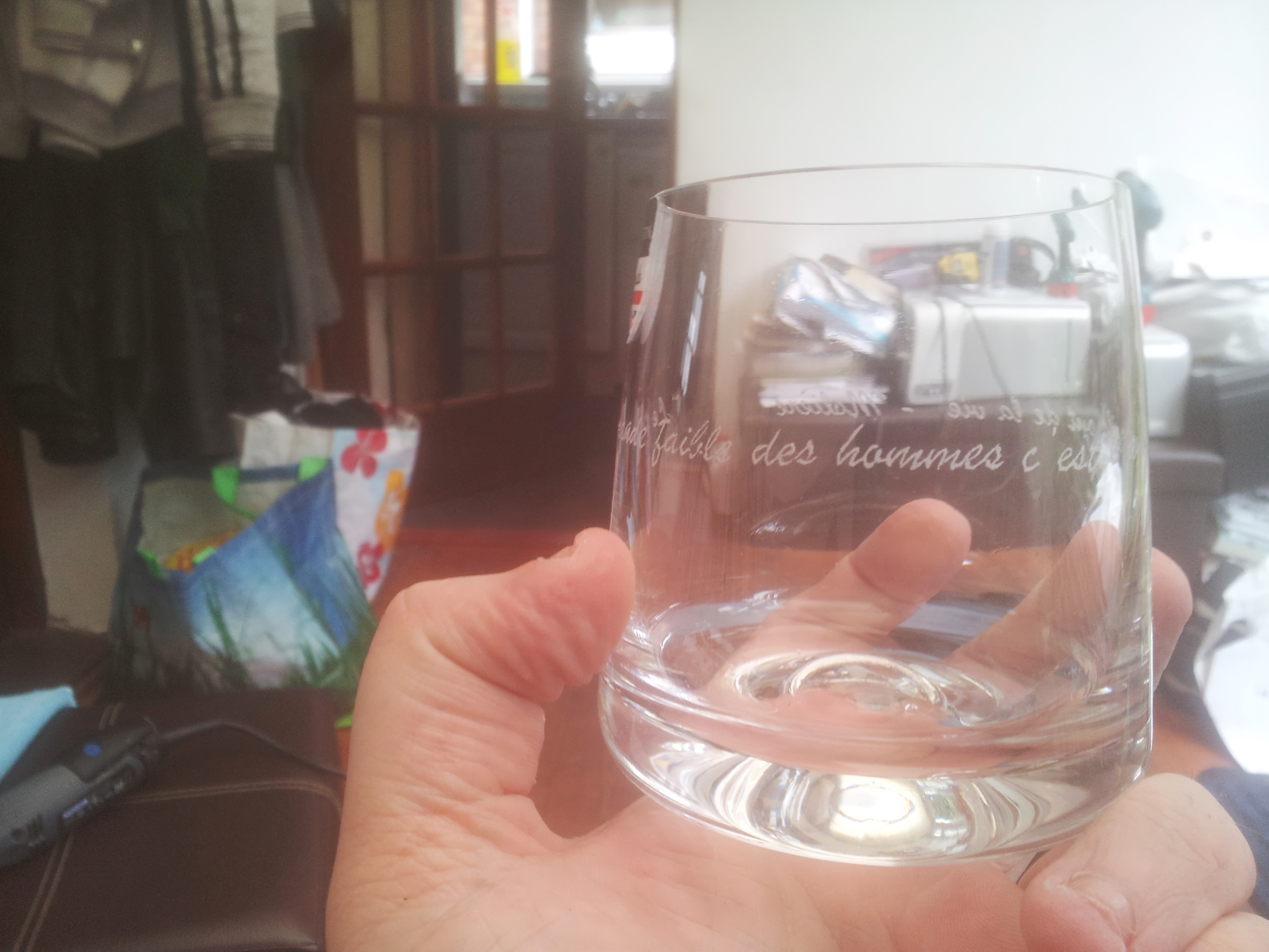 Picture of Hand Engraved Glasses!