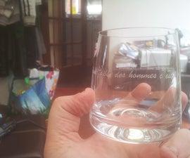 Hand Engraved Glasses!