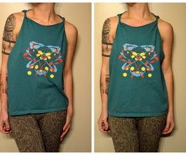 Simple Ink Blot Shirt Designs