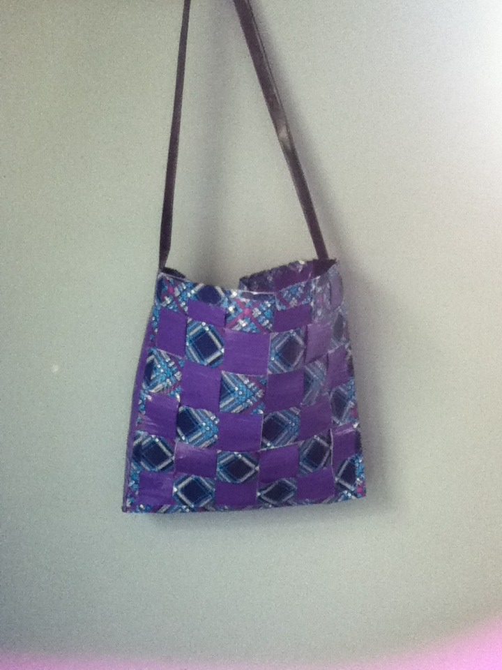Picture of Woven Duct Tape Bag