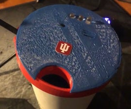 Temperature Sensing Cup Lid