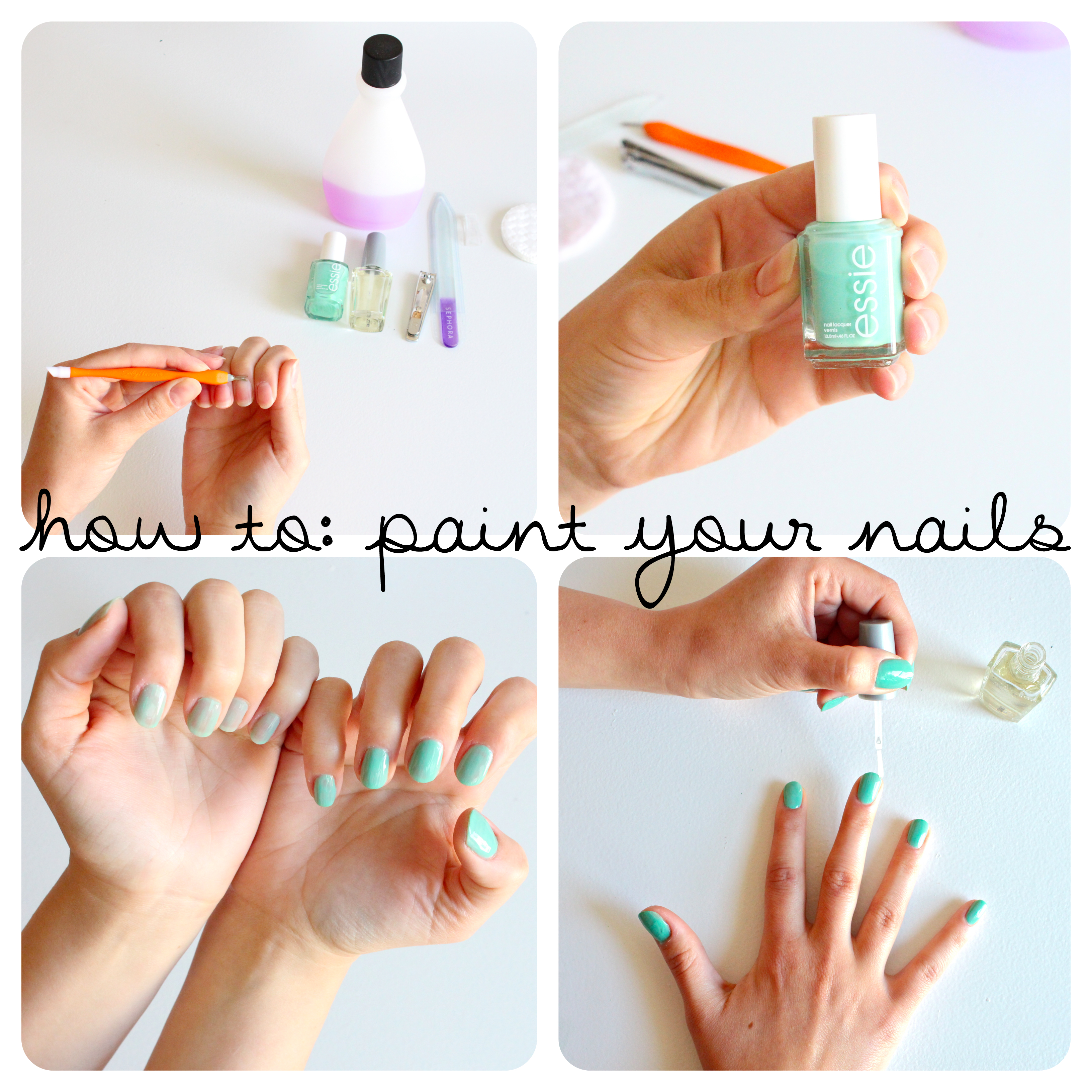 How to Paint Your Nails: 9 Steps (with Pictures)
