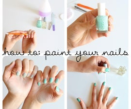 how to paint your nails
