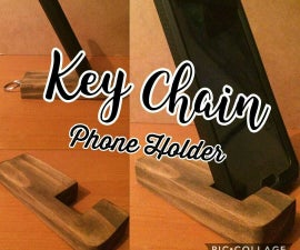 Key Chain Phone Holder