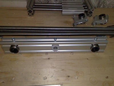 Mechanical Assembly - X Axis