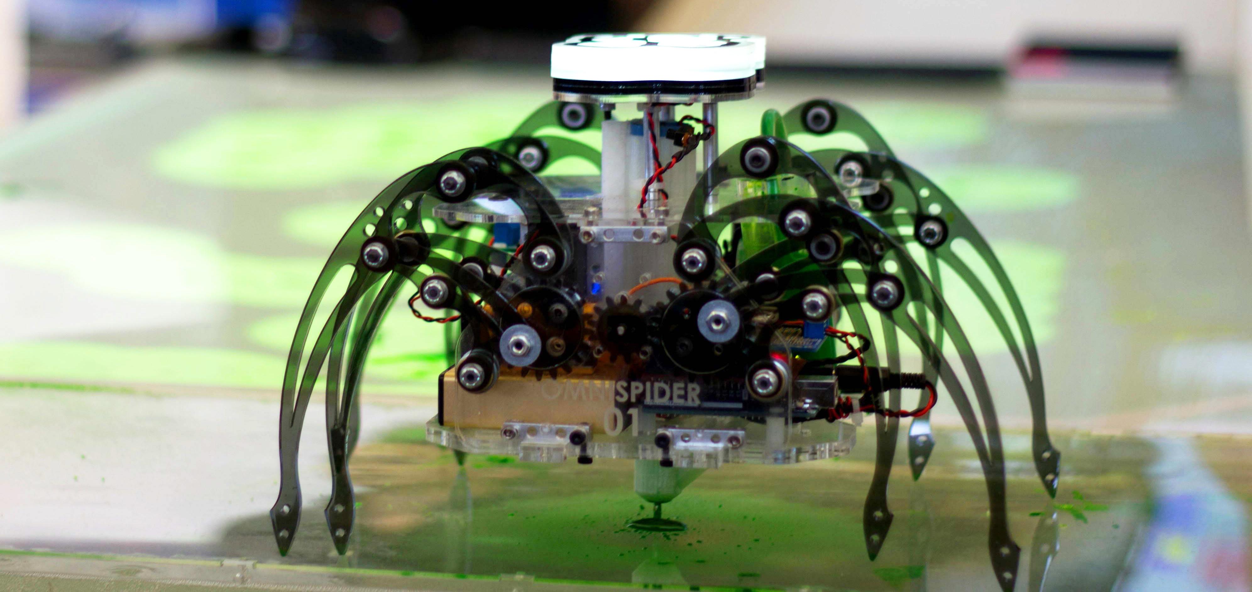 Picture of Terra Spider: Autonomous Remediation Robot