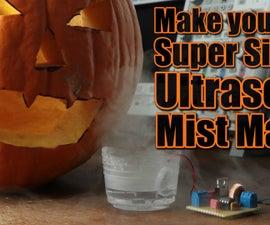 Make Your Own Super Simple Ultrasonic Mist Maker