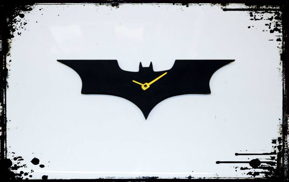 Picture of Dark Knight Wall Clock