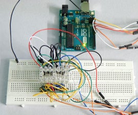 Seven Segment Display using LEDs