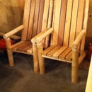 Log and Cedar Chairs