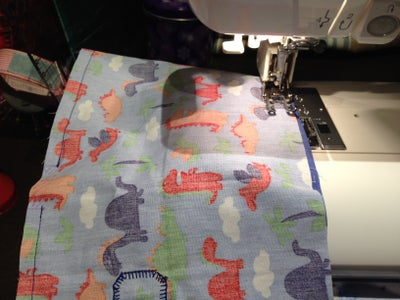 Sew Long Edges