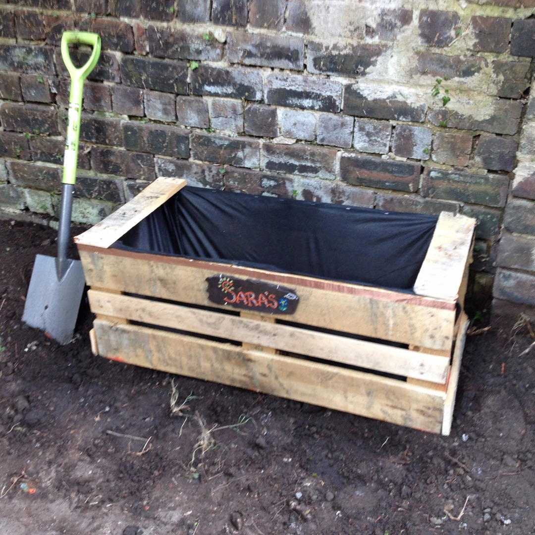 Picture of Simple One Pallet Planter