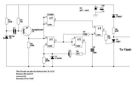 Flash Slave for Preflash-alternative Circuit