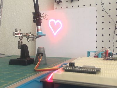 The Heart of a Machine (A Laser Micro-Projector)