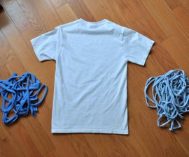T-Shirt into Continuous Yarn!