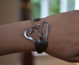 Make a bracelet out of a fork