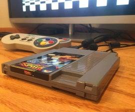Make a Retro Games Console Inside an NES Cartridge!