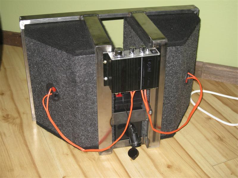 Picture of Speakers + Amplifier
